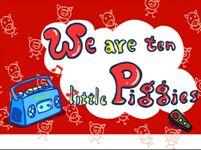 Ten little piggies